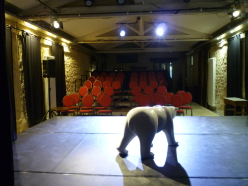 Scène de 5 x4 m